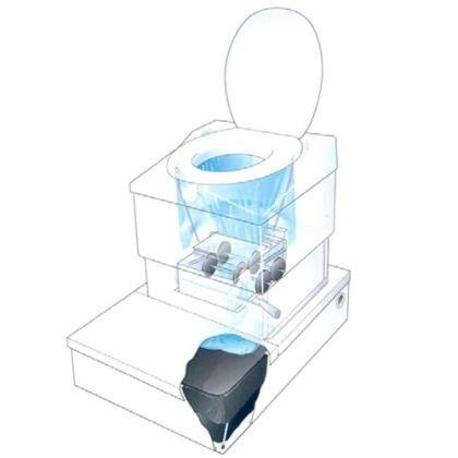 Тоалетни, не-течни, за еднократна употреба