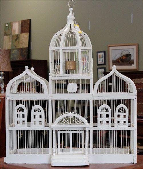 Декоративна клетка за собствените ръце на птиците
