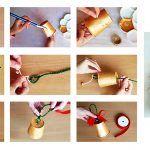 Снимка 38: Изработване на камбани от хартиени чаши