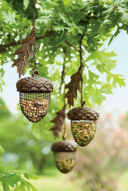 Споделете оригинални идеи за подаване на птици