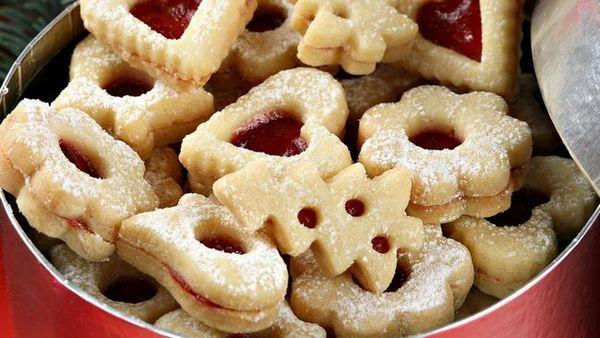 Бисквитки с къри бонбони