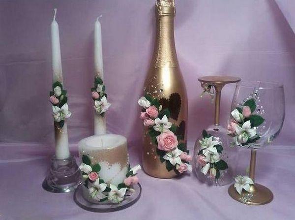 Сватбен декор със студен порцелан