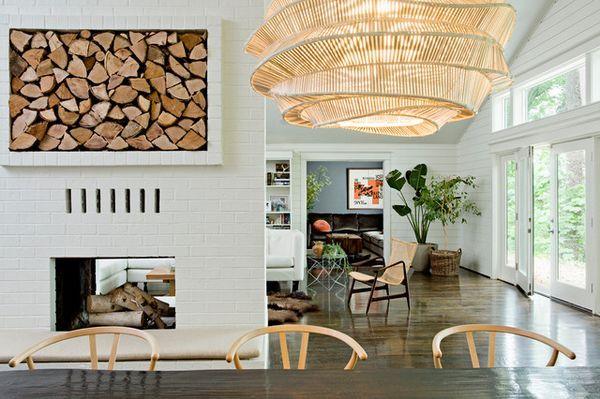 Съхраняване на дърва за огрев в апартамента изберете добро място