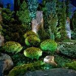 Снимка 19: Подсветка на дърветата