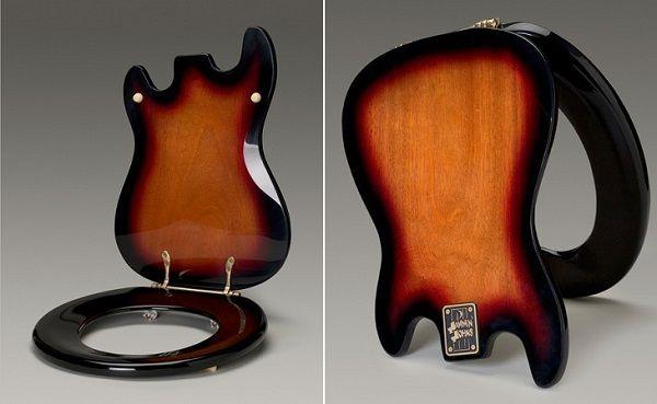 тоалетна седалка под формата на китара3