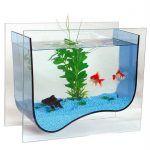 Снимка 53: модерен дизайн на аквариума