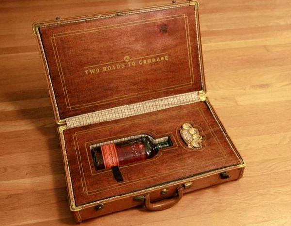 Изключителна опаковка на алкохол за шефа