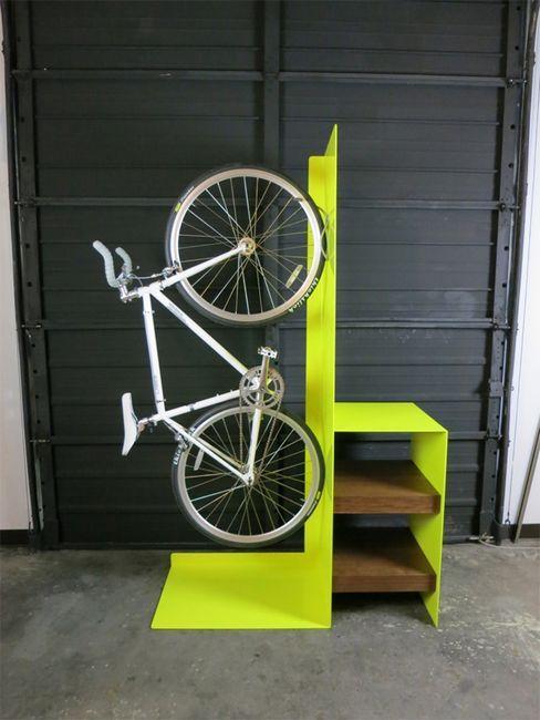 Дървена ракла за велосипеди