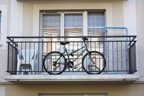 Съхранение на велосипеди на балкона