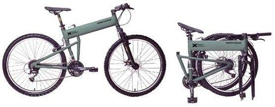 Велосипедът в разглобена форма заема по-малко място