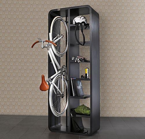 Съхранение на велосипеди в килера