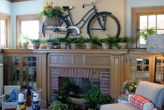 къде да постави мотоциклет в апартамента снимка