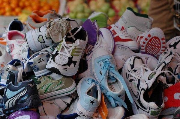 Не всички обувки могат да се мият в пералня