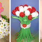 Снимка 17: Букети от балони до 8 март