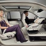 Фигура 22: Разположение на детска седалка в концепцията за Volvo