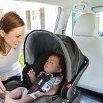 Снимка 29: Детска седалка за кола с козирка