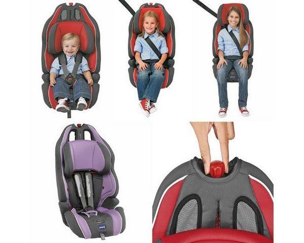 Размерът на детските седалки за кола, в зависимост от възрастта на детето