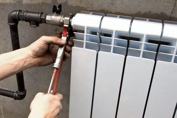 Инсталация на радиатора