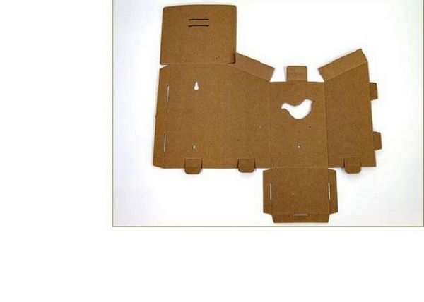 Сканиране на картонена кутия за птици със собствените си ръце