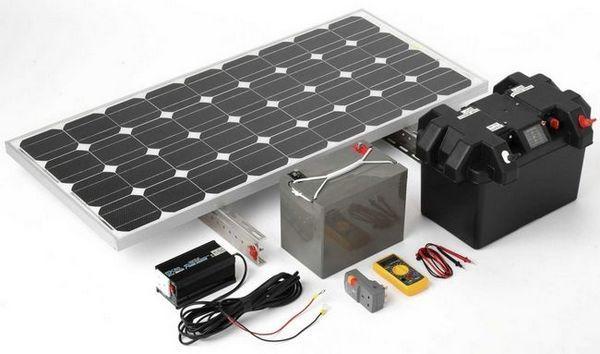 Самостоятелно произведена слънчева батерия