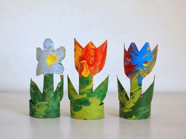 Лалетата от хартиен декор