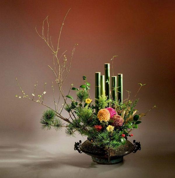 Коледа ikebana