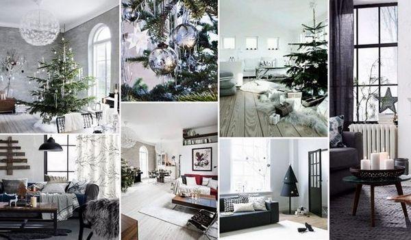 Новогодишен скандинавски интериор