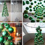 Снимка 50: Коледно дърво на топки