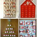 Снимка 70: Новогодишни календари с бележки или подаръци