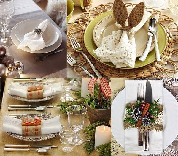 Сервиране на масата за Нова година