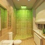 Снимка 27: Завършване на душ с мозайка