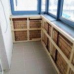 Снимка 12: Как да изолирате балкона със собствените си ръце (12)