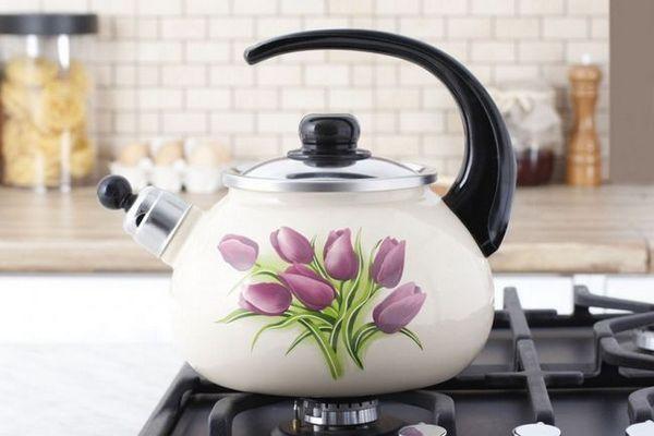 Как да изберем чайник за готварска печка