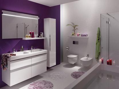Проектно решение на баня с окачена тоалетна