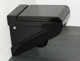ВиК, изработен от черен порцелан