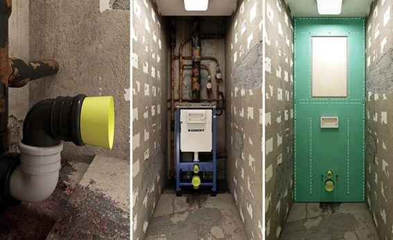 Монтаж на инсталации, доставка на комуникации и стенни покрития
