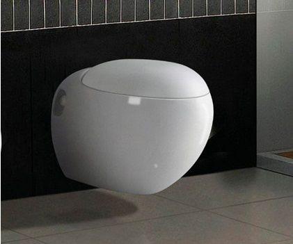 Тоалетна чиния, направена под формата на купа