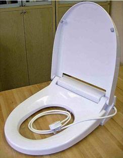 Тоалетна седалка с функция за отопление