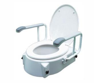 Специална тоалетна седалка за хора с увреждания