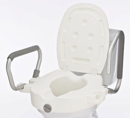 Седалка за инвалиди с дръжки