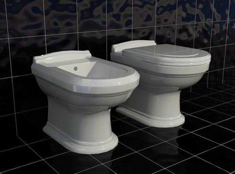 Комплект биде и тоалетна от немския производител