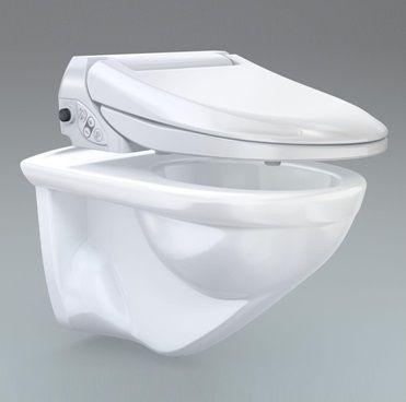 Тоалетна чиния от Geberit с електронен контрол