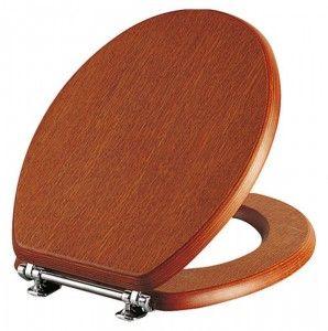 Дървена седалка за тоалетна