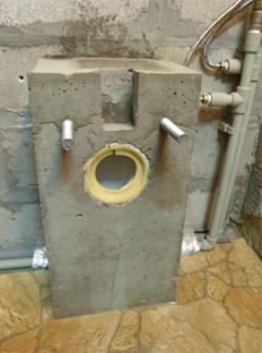Основа за фиксиране на тоалетната чиния