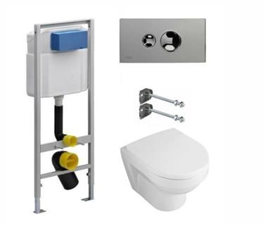 Елементи, необходими за монтаж на санитарно оборудване