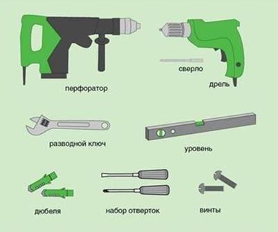 Основни инструменти за инсталиране
