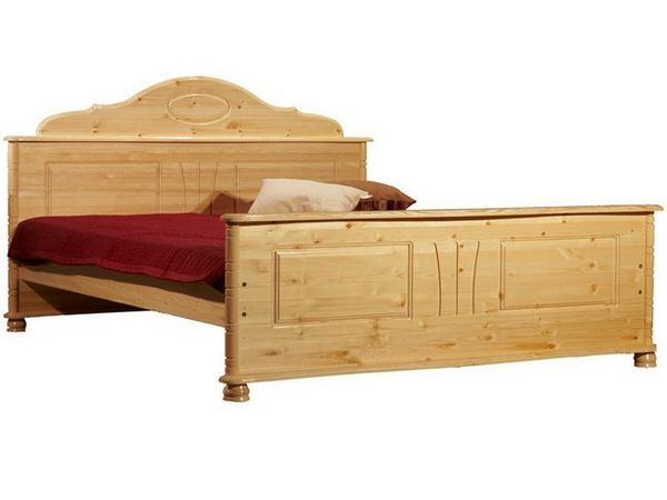 Легло, изработено от дърво