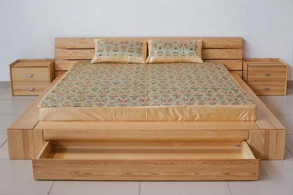 Борово в основата на леглото