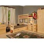 Снимка 19: Комплект мебели от борови дървета