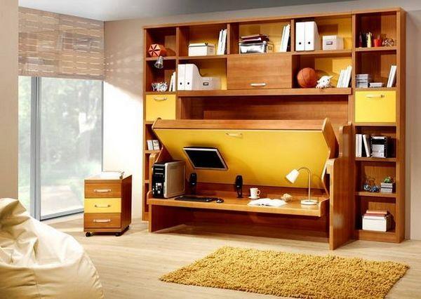 Механизмът на трансформацията ще създаде работно пространство в малка стая